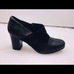 Clark's Brown Block Heels